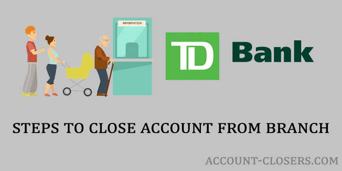 Closing Account from Branch