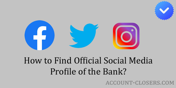Official Social Media Profile of the Bank