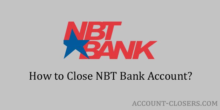 Steps to Close NBT Bank Account