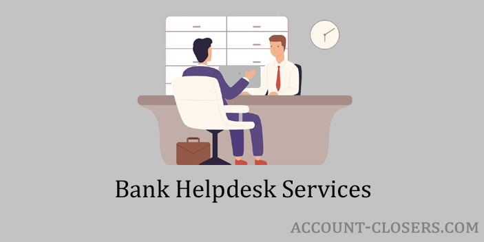 Services Available at Helpdesk of the Bank