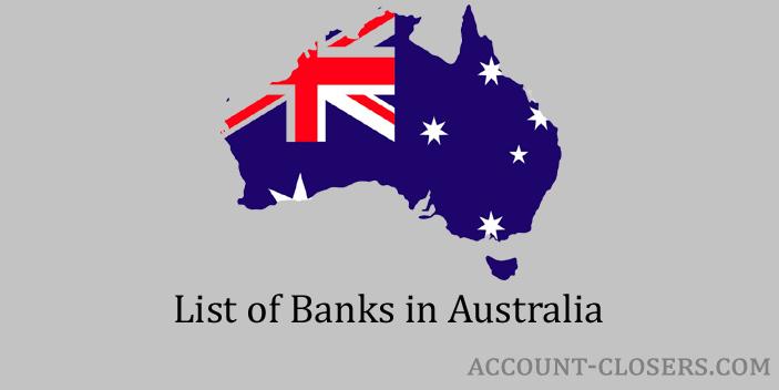 List of Banks in Australia