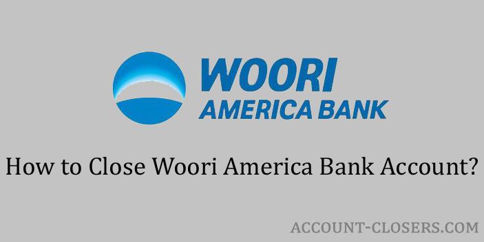 Close Woori America Bank Account