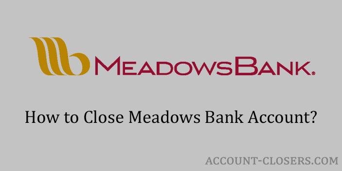 Close Meadows Bank Account
