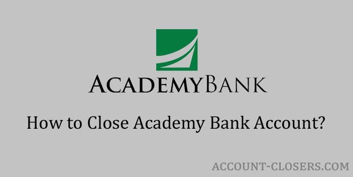 Close Academy Bank Account